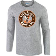 LONG SLEEVE T-SHIRTS IN STOCK!!! BGSU Roll Along Long Sleeve T Shirt – BG Memories | BGSU T-Shirts