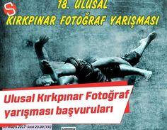 Türkiye Fotoğraf Sanatı Federasyonu tarafından üç yıldız almaya hak kazanan, Kırkpınar Yağlı Güreşlerinin daha iyi anlaşılması, yurt içi ve yurt dışında tanıtılması ve fotoğraf sanatçılarının Kırkpınar'a olan ilgisinin arttırılması amacıyla düzenlenen 18. Ulusal Kırkpınar Fotoğraf Yarışması'nın başvuruları başladı.  #fotoğrafyarışması #kırkpınaryağlıgüreşleri #festival