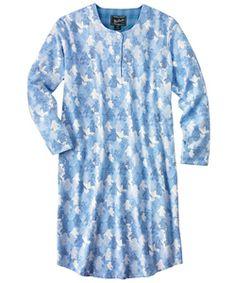 Womens Cozy Flannel Nightshirt #Woolrich1830