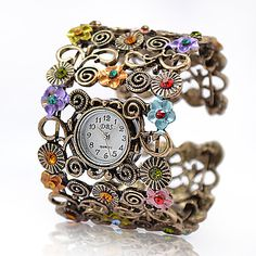check out this Artemis Cuff damsel watch for 8 bucks at mini in the box dot com here http://www.miniinthebox.com/new-fashion-women-wrist-watch_p225369.html