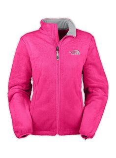 North Face Pink Ribbon Osito Rose Red Jacket