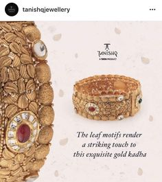 Tanishq Jewellery, Temple Jewellery, Gold Jewelry, Fine Jewelry, Gold Bangles Design, Sai Ram, Jewellery Designs, Necklaces, Bracelets