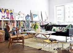 Apartamento moderno y funcional con escogidas piezas de autor | Decoratrix | Decoración, diseño e interiorismo