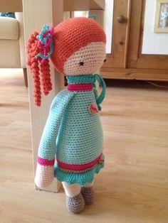 roodharig meisje (idee van Marjo van Leur)
