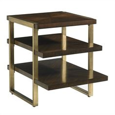 Crestaire-Autry End Table in Porter - 436-15-08