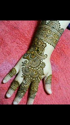 Picture from Rajasthani Mehndi Art Kerela Kochi Photo Gallery on WedMeGood.
