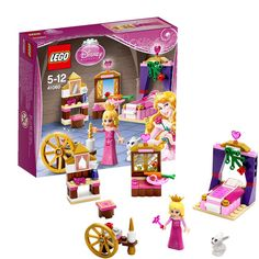 Buy LEGO Disney Princess - Sleeping Beauty's Royal Bedroom at Mighty Ape NZ. Build Sleeping Beauty's bedroom and bring her story to life! Explore Princess Aurora's bedroom at the castle and feed her furry friend the rabbit wit. Lego Disney Princess, Lego Princesse Disney, New Disney Princesses, Princess Toys, Princess Girl, Disney Characters, Lego Friends Sets, Royal Bedroom, Disney Sleeping Beauty