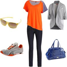 """Back to Basics"" by puma on Polyvore. Great Outfit. I love the basic athletic look!"
