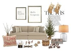 """""""X-mas mood**"""" by mar-aloi ❤ liked on Polyvore featuring interior, interiors, interior design, thuis, home decor, interior decorating, LSA International, Crate and Barrel, Knud Nielsen Company en Transpac"""