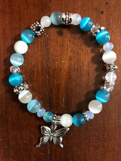 Wire Jewelry, Jewelry Crafts, Gemstone Jewelry, Beaded Jewelry, Jewelery, Jewelry Bracelets, Buddha Armband, Homemade Jewelry, Jewelry Making Tutorials
