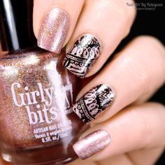 Nail Art by Belegwen: Girly Bits The Shaft