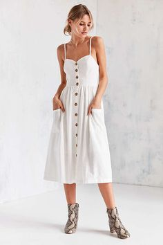 Persevering 2019 Summer Linen Vest Sundress Draped Elegant Girl Casual Spring Pleated Dress Solid Color Sleeveless Round Neck Party Night Bright In Colour Women's Clothing