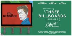 A mixed media billboard poster design for the, 'Three Billboards Outside Ebbing Missouri' UK cinema release. Made using traditional illustration, collage and digital design techniques (Dunstan Carter, 2018)