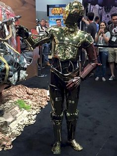 image for 'Fan-made Episode VII C-3PO Debuts at SDCC'