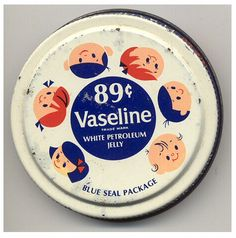 vintage | packing | Vaseline brand