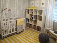 Project Nursery - Gray and Yellow