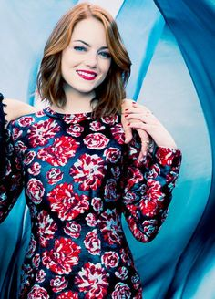 """""""Emma Stone for The Hollywood Reporter top stylist (April 2015)"""""""