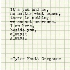 tylerknott Typewriter Series by Tyler Knott Gregson What Is Love, Just Love, Just For You, Most Beautiful Words, Pretty Words, Favorite Words, Favorite Quotes, Always Thinking Of You, Love Notes