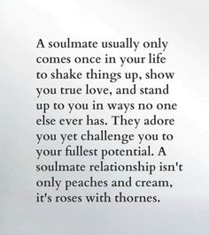So incredibly true for My Love & I!!!