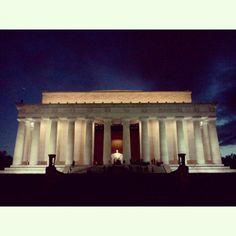 Lincoln Memorial in Washington DC, D.C.
