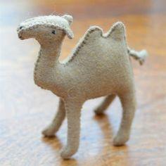 Felt+Animals:+Camel