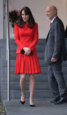 The Duchess of Cambridge at the Anna Freud Centre Christmas Party on 15 December 2015 ❤️