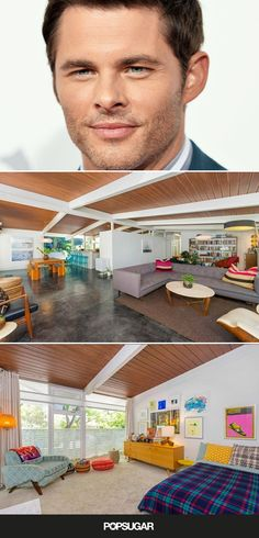 Is James Marsden or His New Midcentury Modern Home Dreamier?