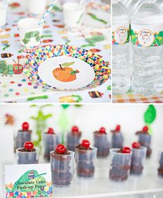 "Host a birthday party inspired by the children's book ""The Very Hungry Caterpillar!"""