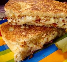 """Grilled Cheese with Bacon & Maple Mustard: """"The maple mustard adds so much to this gooey melted cheese sandwich."""" —jackieblue"""