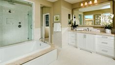 Everything's Included by Lennar, the leading homebuilder of new homes for sale in the nation's most desirable real estate markets. Shelter Me, Night Time Routine, Dream Bathrooms, New Homes For Sale, House Rooms, Real Estate Marketing, Building A House, Tile, Relax