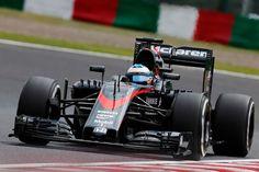 Suzuka Circuit, Suzuka, Japan. Saturday 26 September 2015. Fernando Alonso, McLaren MP4-30 Honda.