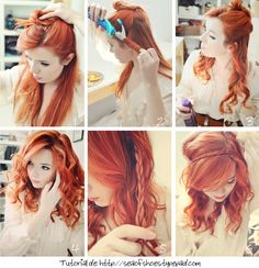 I love the color, the length, everything. girl.. .I want your hair!