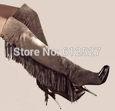 Find More Women's Boots Information about New Arrival Brand Metal Toe Tassel Thigh High Boots Women Fashion Thin Heel Over The Knee Boots Winter Long Boots Size 35 42,High Quality boots foot,China boot red Suppliers, Cheap boots casual from Fashion boutiques trade store on Aliexpress.com