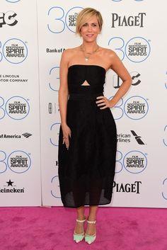 Kristen Wiig in Yigal Azrouel at Independent Spirit Awards [Photo by Tyler Boye]