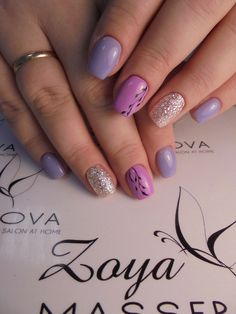 94 spring nail designs that will make you excited for spring page 53 Spring Nail Colors, Nail Designs Spring, Spring Nails, Cool Nail Designs, Winter Nails, Pale Pink Nails, Nail Art Techniques, Nagellack Trends, White Nail Art