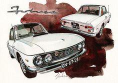 Lancia Fulvia HF #lancia