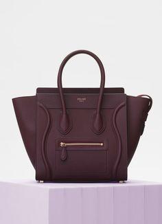 Micro Luggage handbag in baby drummed calfskin  7036c9ecd5d23