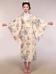 0dcc4d369 Beige Women s Japanese Kimono Costumes. Kimono Japones FemininoKimono  FemininoQuimono JaponêsBegeFantasiasCorpoViagemFantasias De AnimeTrajes  Legais