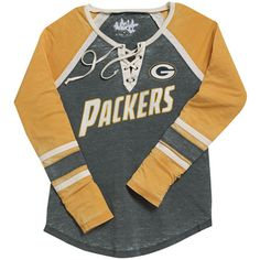 Packers Women's Touch Hat Trick Hockey Jersey at the Packers Pro Shop http://www.packersproshop.com/sku/5604027099/