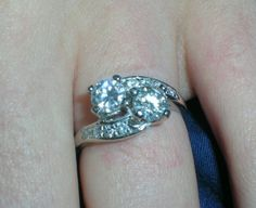 My Affordable Engagement Ring plus tips on how you can get one too!
