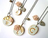 Mother's Day - Grandma Necklace - Personalized Jewelry. $30.00, via Etsy.