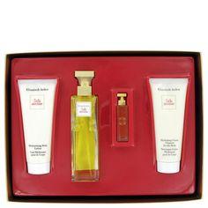 5th Avenue By Elizabeth Arden Gift Set -- 2.5 Oz Eau De Parfum Spray   3.3 Oz Body Lotion Tube   3.3 Oz Hydrating Cream Cleanser   .12 Parfum