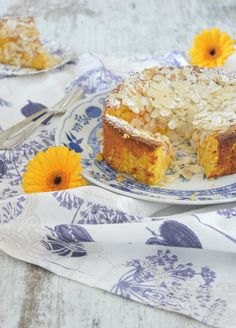 Orangen-Mandel-Kuchen / Orange Almond Cake