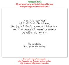 christmas photo cards religious verse 08 for christmas photo cards - Funny Christmas Card Sayings