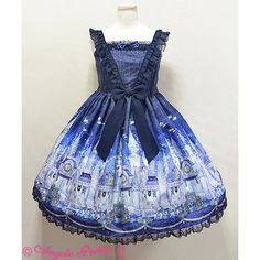 Castle Mirage JSK ❤ liked on Polyvore featuring lolita and angelic pretty