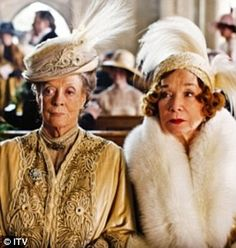 Dame Maggie Smith and Shirley McLaine