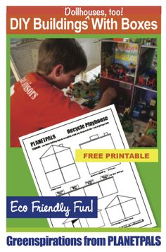 Planetpals Craft Page: Building plans, layouts, patterns, ideas, directions