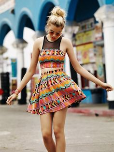 Hailey Clauson for Lovers Friends Spring 2014 Collection. Such a cute dress.