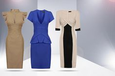 instead of (from Lovarni) for an office pencil dress in a choice of designs - work in style and save Pencil Dress, Peplum Dress, Coventry, Nottingham, Cardiff, Belfast, The Struts, Newcastle, Design Your Own