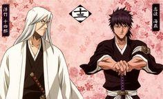 Squad 13: Jushiro Ukitake and Kaien Shiba